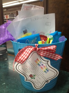 National Library Week goodie basket #2
